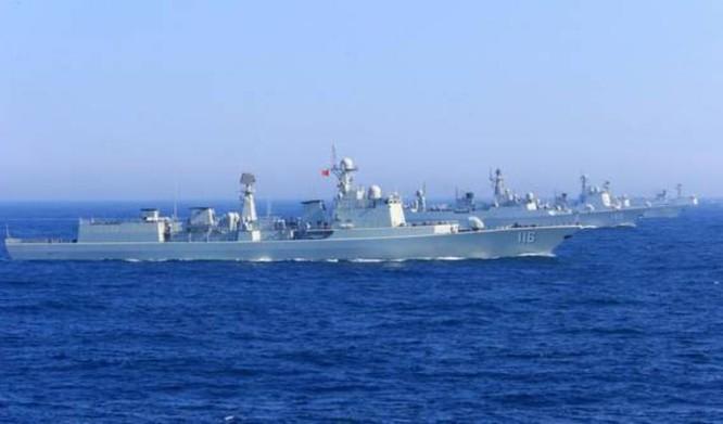Hải quân Trung Quốc và Nga tổ chức tập trận chung