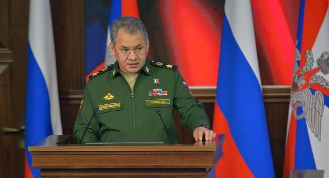 Tướng Sergei Shoigu.