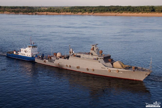 Tàu tên lửa cỡ nhỏ Dự án Buyan-M.