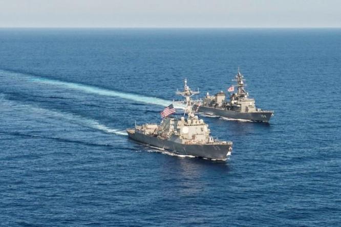 Hải quân Mỹ - Nhật