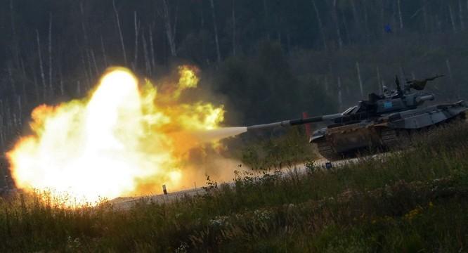Xe tăng chiến trường của Nga.