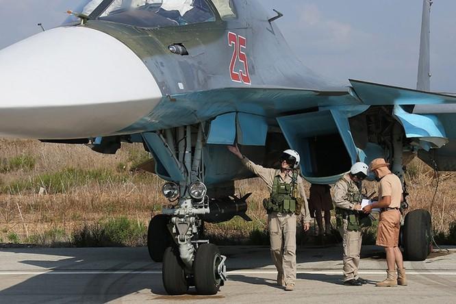 Không quân Nga ở Syria.