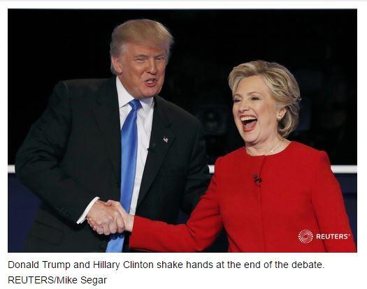 """""""Đấu khẩu"""" giữa Hillary Clinton và Donald Trump: Cơ hội làm Tổng thống Mỹ của ông Trump đã giảm ảnh 11"""