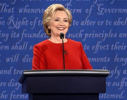 Bà Hillary Clinton.