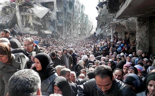 Chiến sự Syria (ảnh minh họa).