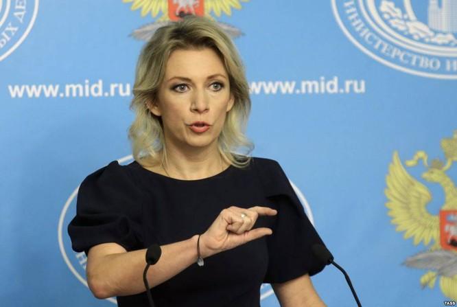 Người phát ngôn chính thức Bộ Ngoại giao Nga Maria Zakharova