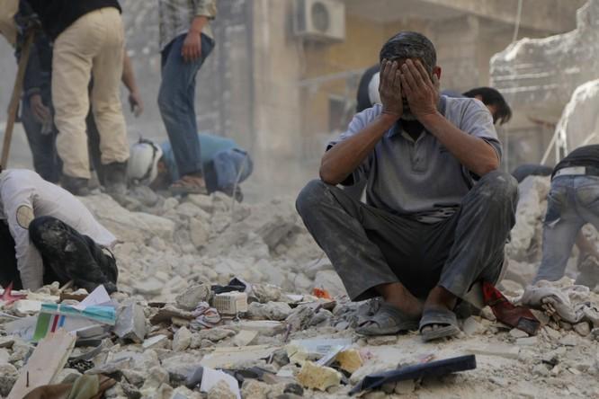 Chiến tranh tàn phá Syria.