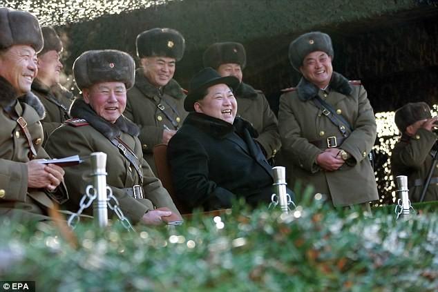 Nhà lãnh đạo Bắc Triều Tiên Kim Jong Un và quân đội (ảnh minh họa)