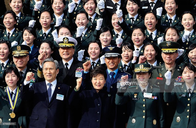 Quan chức Hàn Quốc và các lực lượng vũ trang.
