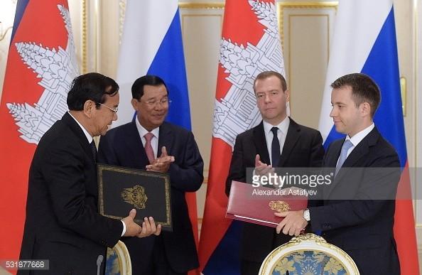 Quan hệ Nga - Campuchia (ảnh minh họa)
