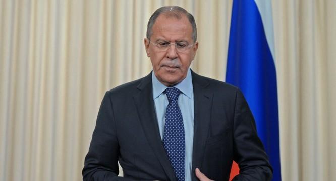 Bộ trưởng Ngoại giao Nga Sergey Lavrov