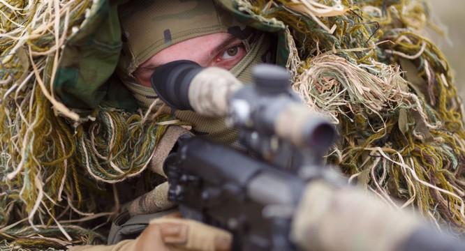 Xạ thủ bắn tỉa Nga (ảnh minh họa: Sputnik)