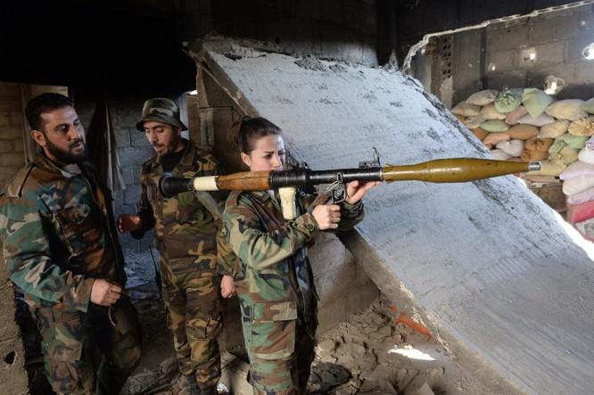 Quân đội Syria.