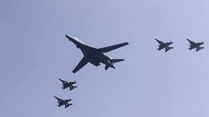 Máy bay ném bom Mỹ ở Hàn Quốc (ảnh minh họa).
