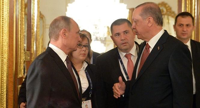 Ông Putin và ông Erdogan.