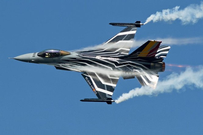 F-16 của Không quân Bỉ (ảnh minh họa).