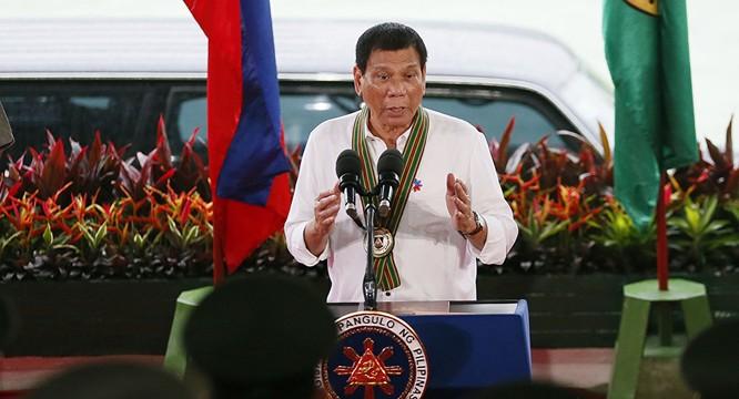 Ông Duterte.
