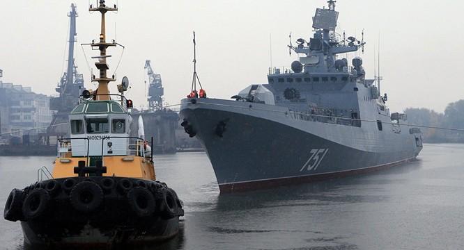 Hải quân Nga đang gia tăng hoạt động ở ở Địa Trung Hải ảnh 1