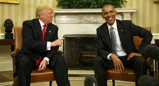 Barack Obama và Donald Trump không giải quyết được một số bất đồng ảnh 1