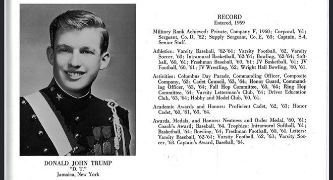 Thời đến trường của tân Tổng thống Mỹ Donald Trump ảnh 7