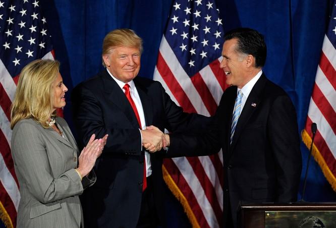 Donald Trump và Mitt Romney bàn kỹ tình hình thế giới ảnh 1