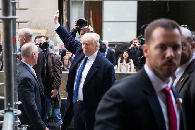 Donald Trump quyết định gặp gỡ ban biên tập báo New York Times ảnh 1