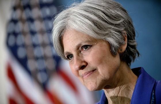 Ứng viên thuộc đảng Xanh Jill Stein.