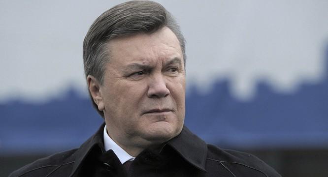 Cựu Tổng thống Ukraine Yanukovych.