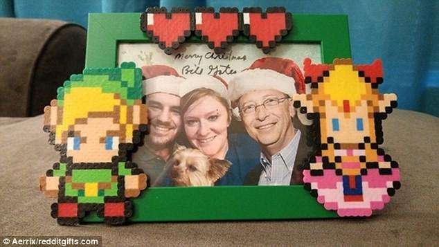"""Qúa bất ngờ vì được nhận quà từ """"ông già Noel"""" Bill Gates ảnh 3"""