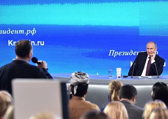 Những tuyên bố đáng chú ý nhất của ông Putin trong cuộc họp báo ngày 23/12 ảnh 3