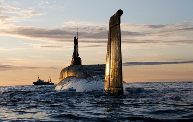 """Tàu ngầm hạt nhân """"Yury Dolgoruky"""""""