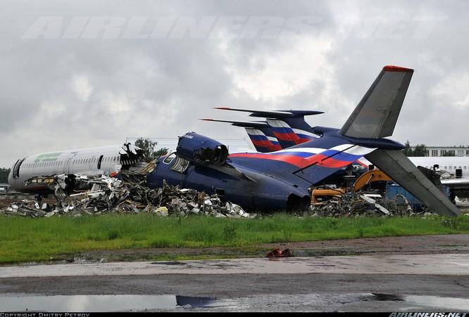 Tai nạn liên quan đến máy bay Tu-154 cũng đã từng xảy ra.