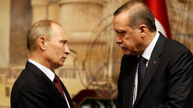 Lãnh đạo Nga - Thổ.