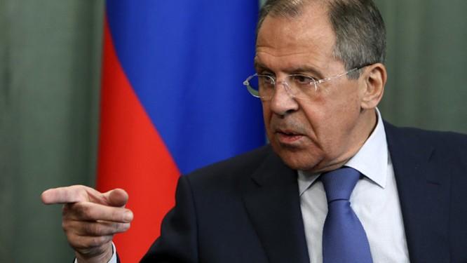 Bộ trưởng Ngoại giao Nga Lavrov.