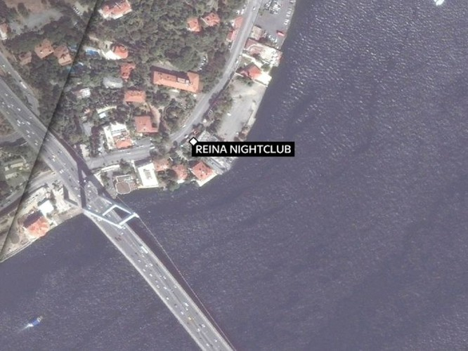 Địa điểm xảy ra vụ tấn công