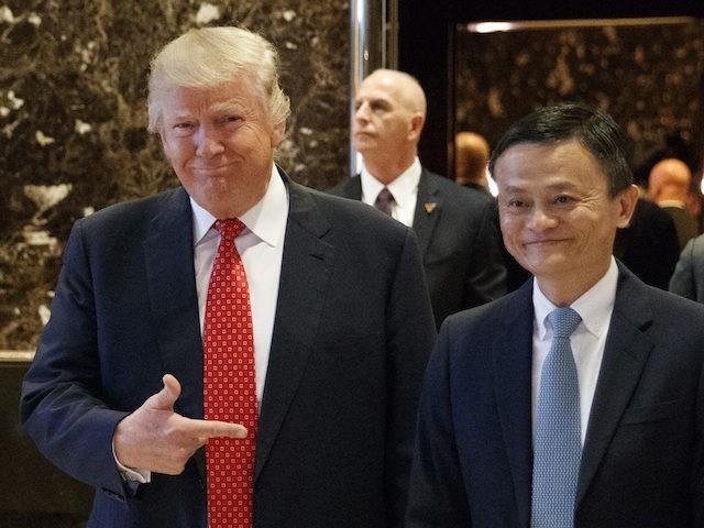 VIDEO: Donald Trump gặp gỡ, bắt tay tỷ phú Trung Quốc, nói những điều hứa hẹn ảnh 1