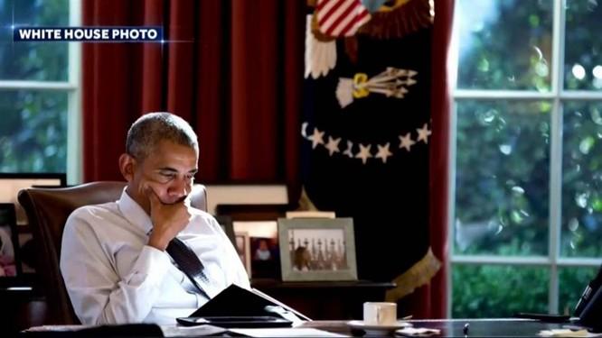 Ông Obama ở Nhà Trắng (ảnh tư liệu)