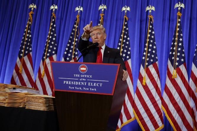 Họp báo lần đầu tiên kể từ khi trúng cử: Donald Trump nặng lời với phóng viên CNN - VIDEO ảnh 4
