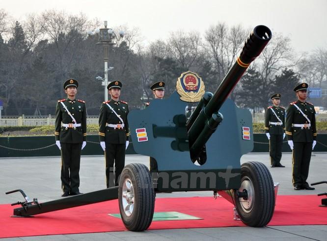 Lễ bắn đại bác chào mừng chuyến thăm của Tổng Bí thư Nguyễn Phú Trọng ảnh 2