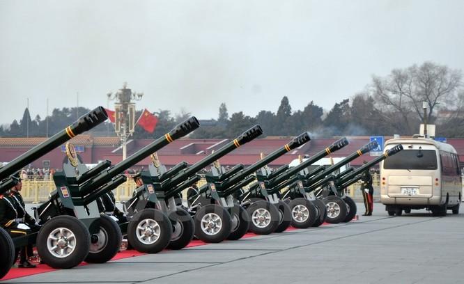Lễ bắn đại bác chào mừng chuyến thăm của Tổng Bí thư Nguyễn Phú Trọng ảnh 4
