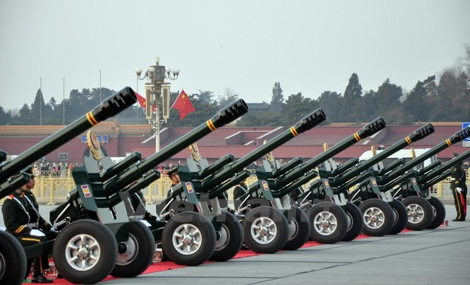 Lễ bắn đại bác chào mừng chuyến thăm của Tổng Bí thư Nguyễn Phú Trọng ảnh 5
