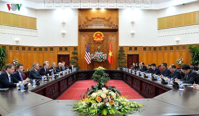 Thủ tướng Nguyễn Xuân Phúc tin tưởng rằng trên cơ sở nền tảng hiện có, hai nước sẽ tăng cường hợp tác nhằm tiếp tục thúc đẩy quan hệ ổn định, lâu dài, thực chất và hiệu quả.