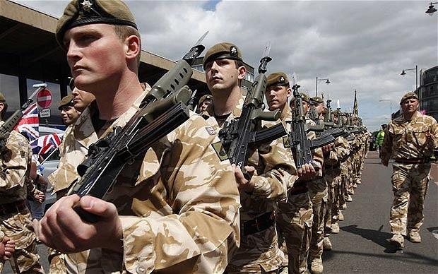 Quân đội Anh tập trận đề phòng chiến tranh với Nga ảnh 1