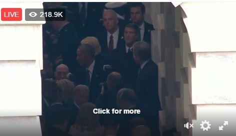 Toàn cảnh lễ tuyên thệ nhậm chức của Tổng thống Mỹ Donald Trump - VIDEO, ẢNH ảnh 52