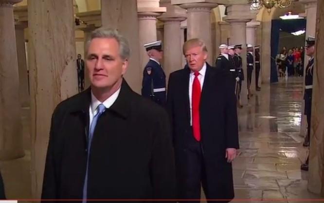 Toàn cảnh lễ tuyên thệ nhậm chức của Tổng thống Mỹ Donald Trump - VIDEO, ẢNH ảnh 73
