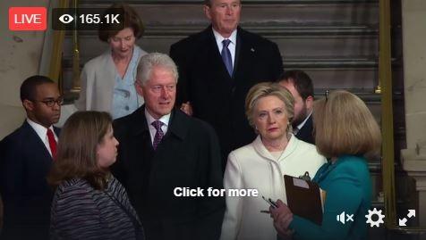 Toàn cảnh lễ tuyên thệ nhậm chức của Tổng thống Mỹ Donald Trump - VIDEO, ẢNH ảnh 44