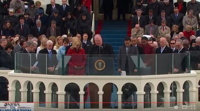 Các thủ tục trước khi ông Trump tuyên bố trong lễ nhậm chức.