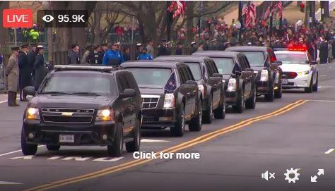 Toàn cảnh lễ tuyên thệ nhậm chức của Tổng thống Mỹ Donald Trump - VIDEO, ẢNH ảnh 30