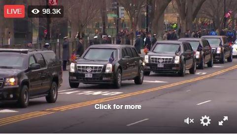 Toàn cảnh lễ tuyên thệ nhậm chức của Tổng thống Mỹ Donald Trump - VIDEO, ẢNH ảnh 31