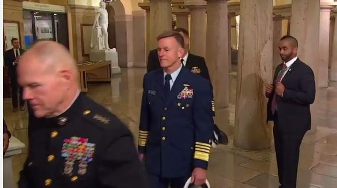 Toàn cảnh lễ tuyên thệ nhậm chức của Tổng thống Mỹ Donald Trump - VIDEO, ẢNH ảnh 27